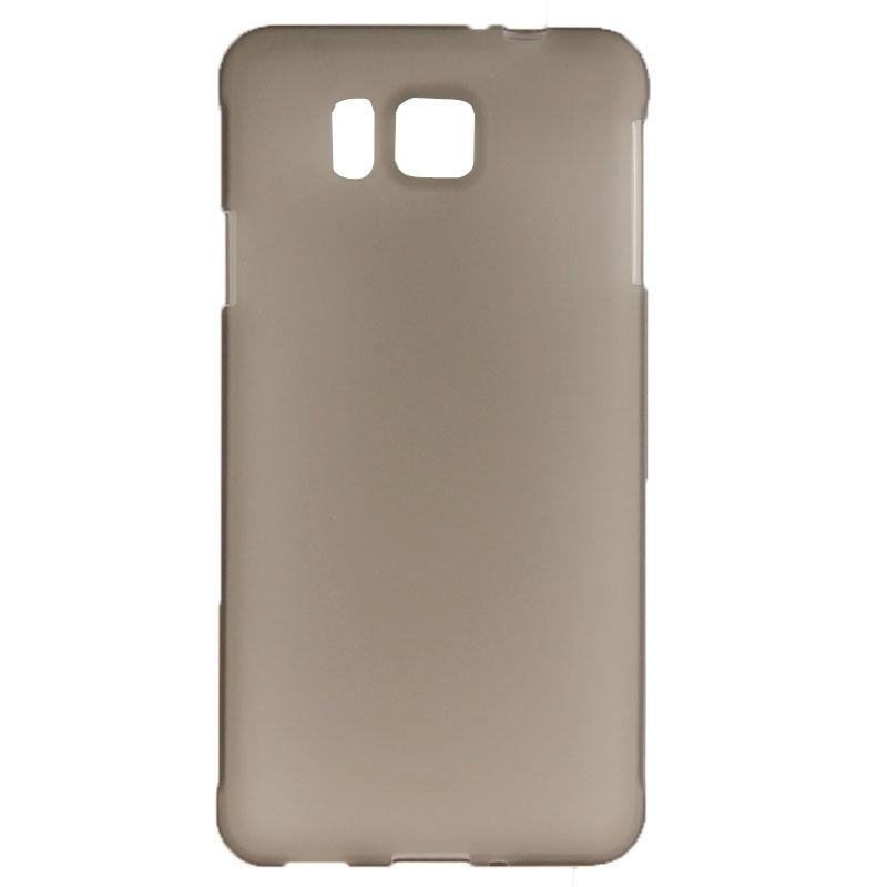 Samsung galaxy alpha gekleurde flexibele case grijs - Grijs gekleurde ...