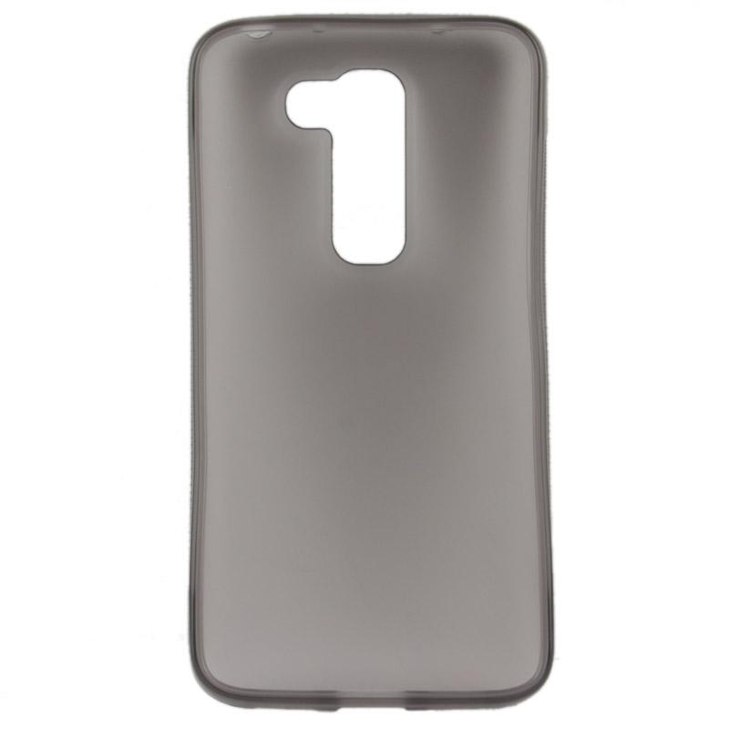 Lg g2 gekleurde flexibele case grijs - Grijs gekleurde ...