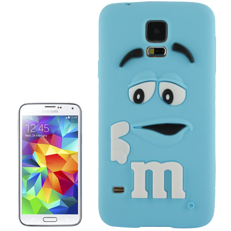 samsung galaxy s5 m m flexibele case blauw. Black Bedroom Furniture Sets. Home Design Ideas