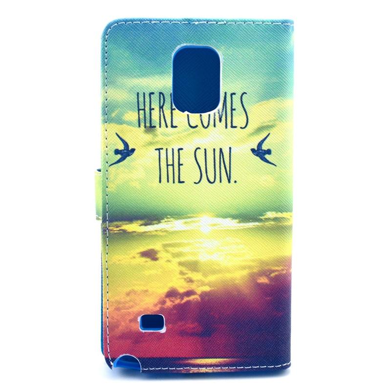 Samsung Galaxy Note 4, Horizontale Flip Cover met ...